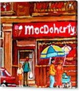 Macdohertys Icecream Parlor Acrylic Print