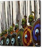 Macedonian Phalanx Acrylic Print