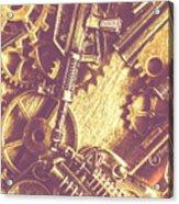 Machine Guns Acrylic Print