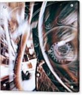 Machine Speed Warp In Blur Acrylic Print