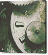 Machinery From The Industrial Age Acrylic Print