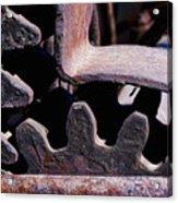 Machinery Acrylic Print