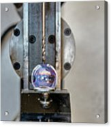 Machinists Drill With Precision Acrylic Print