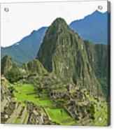 Machu Picchu - Iconic View Acrylic Print