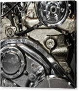 Mack Truck Display Engine Acrylic Print