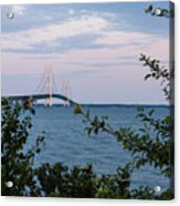 Mackinac Bridge 1 Acrylic Print