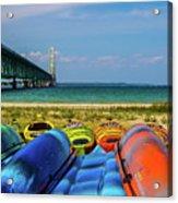 Mackinac Bridge 2240 Acrylic Print