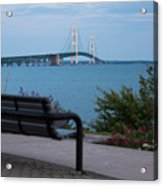 Mackinac Bridge 4 Acrylic Print