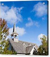 Mackinac Island Church Acrylic Print