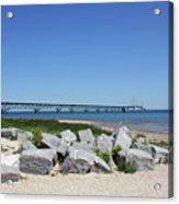 Mackinaw Bridge 2 Acrylic Print