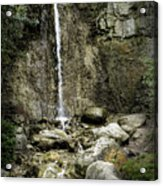 Mackinaw City Park Waterfalls Acrylic Print