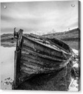 Macnab Bay Old Boat Acrylic Print
