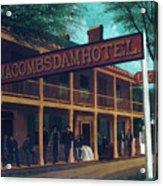Macomb's Dam Hotel Acrylic Print