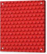 Macro Ping Pong Paddle Texture Acrylic Print