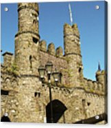 Macroom Castle County Cork Ireland Acrylic Print
