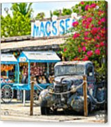 Mac's Sea Garden II On Key West Florida Acrylic Print