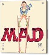 Mad Magazine Cover Acrylic Print