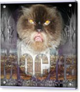 Mad Mocha The Cat Acrylic Print