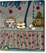 Mad Tea Party Acrylic Print