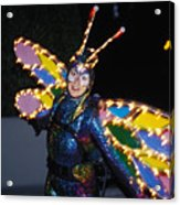 Madame Butterfly At Disney Acrylic Print