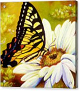 Madame Butterfly Acrylic Print