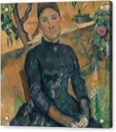 Madame Cezanne In The Conservatory Acrylic Print