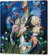 Madame Clawdia D'bouclier From Mask Of The Ancient Mariner Acrylic Print