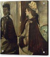 Madame Jeantaud In The Mirror Acrylic Print