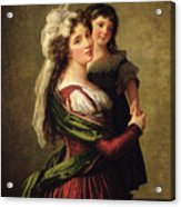 Madame Rousseau And Her Daughter Acrylic Print