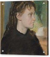 Madame Theodore Gobillard Yves Morisot, 1838-1893 , Edgar Degas French, Paris 1834-1917 Paris Acrylic Print