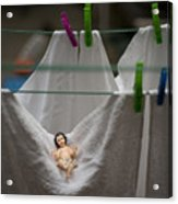 Made In China Baby Jesus Acrylic Print