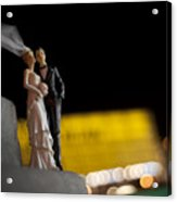 Made In China Bride And Groom Acrylic Print