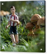 Made In China Soccer Player Acrylic Print