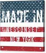 Made In Nesconset, New York Acrylic Print