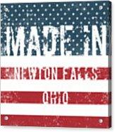 Made In Newton Falls, Ohio Acrylic Print