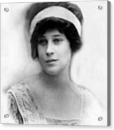Madeleine Astor 1893-1940, Wife Of John Acrylic Print by Everett