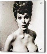 Madeline Smith, Vintage Actress Acrylic Print