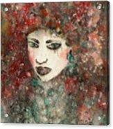 Mademoiselle Acrylic Print