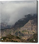 Maderia Mountains  Acrylic Print