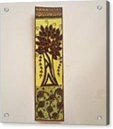Madhubani Bookmark Acrylic Print