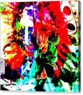 Madi Gras Acrylic Print