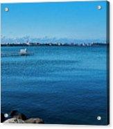 Madison Across Lake Mendota Acrylic Print