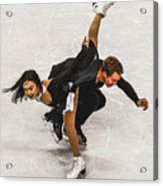 Madison Chock And Evan Bates Acrylic Print