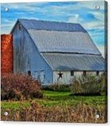 Madison County Barn Love Acrylic Print