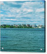Madison Skyline Acrylic Print