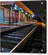 Madisonville Train Depot Acrylic Print