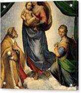 Madonna 1513 Acrylic Print