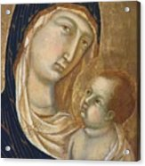 Madonna And Child Fragment  Acrylic Print