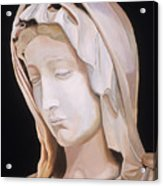 Madonna By Michaelangelo Acrylic Print