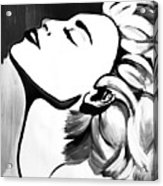 Madonna Acrylic Print by Cat Jackson